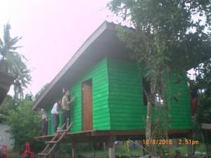 Tayang volunteer house